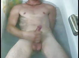 masturbating in the bathtub