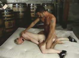 Dad's blonde slave boy