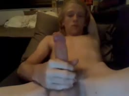18 sweet boy wank and cum