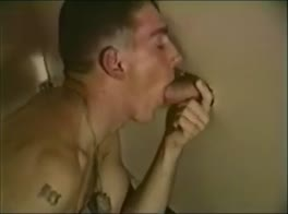 Big cock glory hole