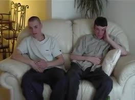 Scally boys spanked
