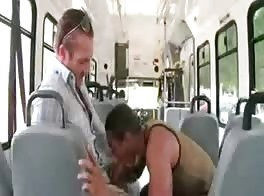 public bus blowjob