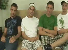 cash hungry straight boys five-some