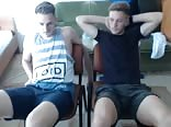 Romanian Footballer & His Friend Go Gay 1st Time On Cam
