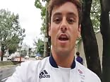 Tom Daley:  We are coming home!