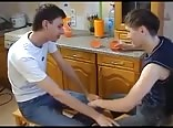 RUSSIAN TWINKS AND A KITCHEN