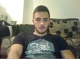 Serbian Handsome Shy Boy Shows His Nice Cock On Cam