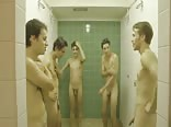 Nude team shower