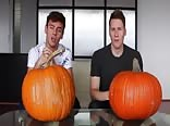 Tom Daley:  and D Lance Black: Pumpkin Carving