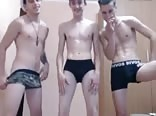 3 Romanian Boys Cum On Cam