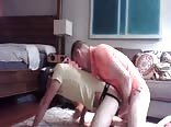 Twink Fucked Raw, Blindfolded and Gagged By Stranger