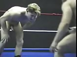 Horny and Naked Wrestlers.