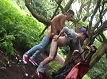 Hot Bare Fuck in the Woods