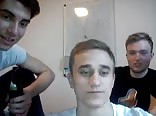 German Str8 Friends Go Gay On Cam. Hot Kiss & Hot Asses