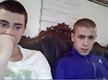 2 cute serbians try out chatroulette