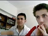 2 turkish first timers on chatroulette