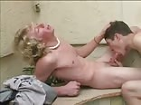 Blond Twink Takes It Bareback