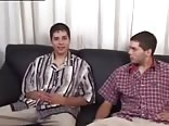 Twins brothers jerking together