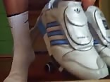 Adidas shoes and socks