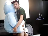 fucking his teddy