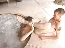Boy Fuck in Pool