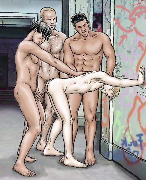 Free Gay Cartoon Images