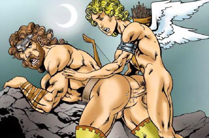 Японочку боги олимпа трахаются видео жену