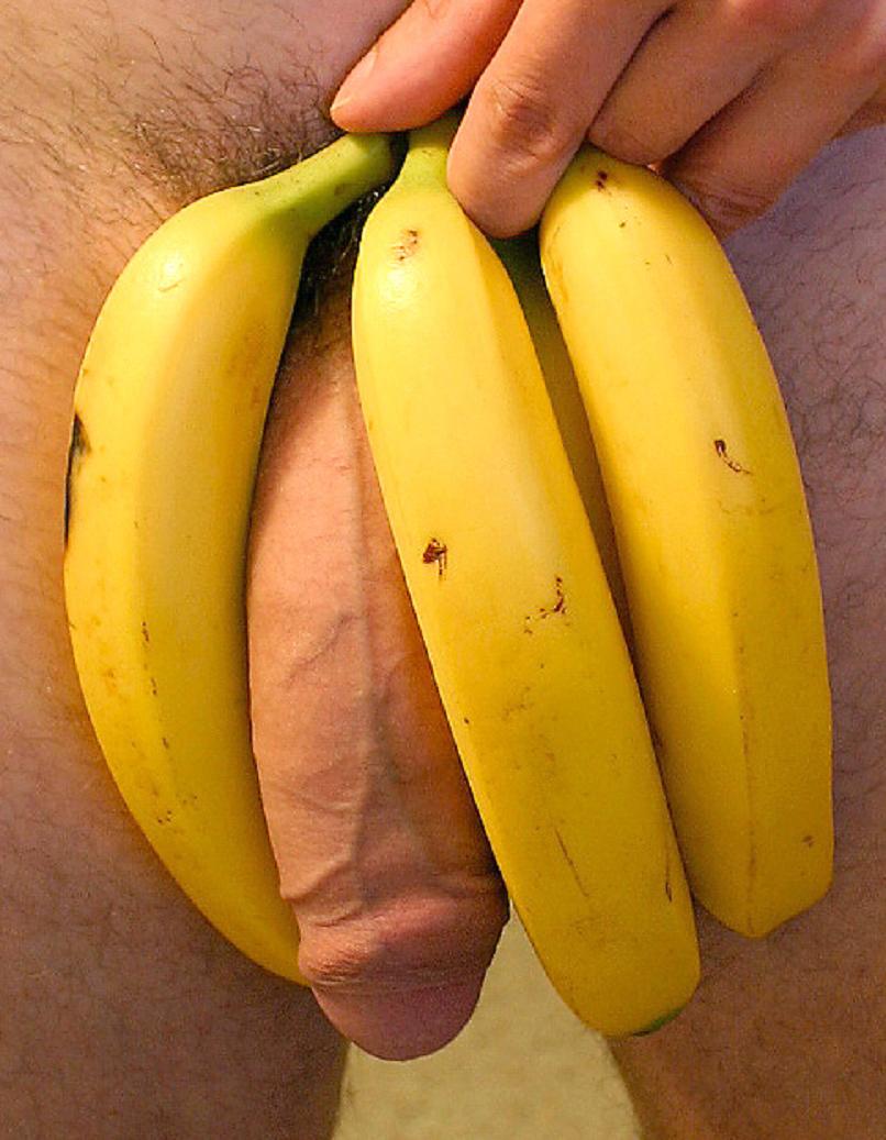 приглядевшись, банан за место члена фото видишь, что
