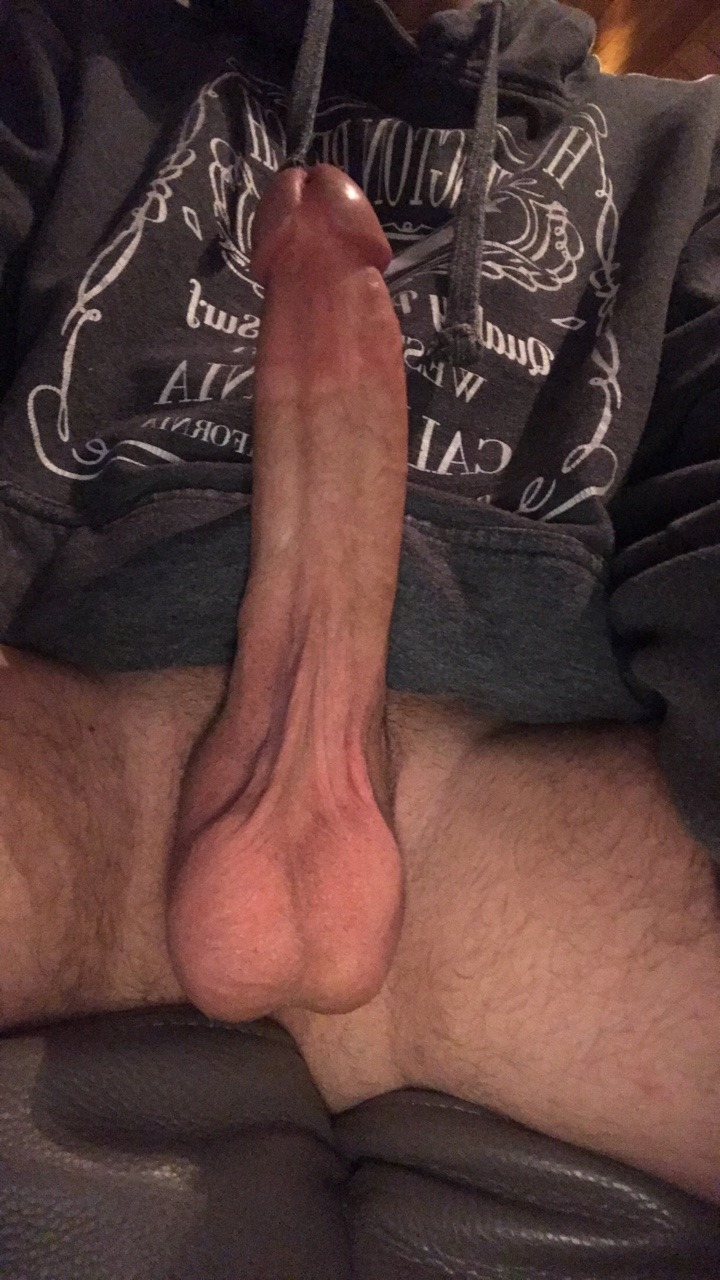Showing of my huge cock