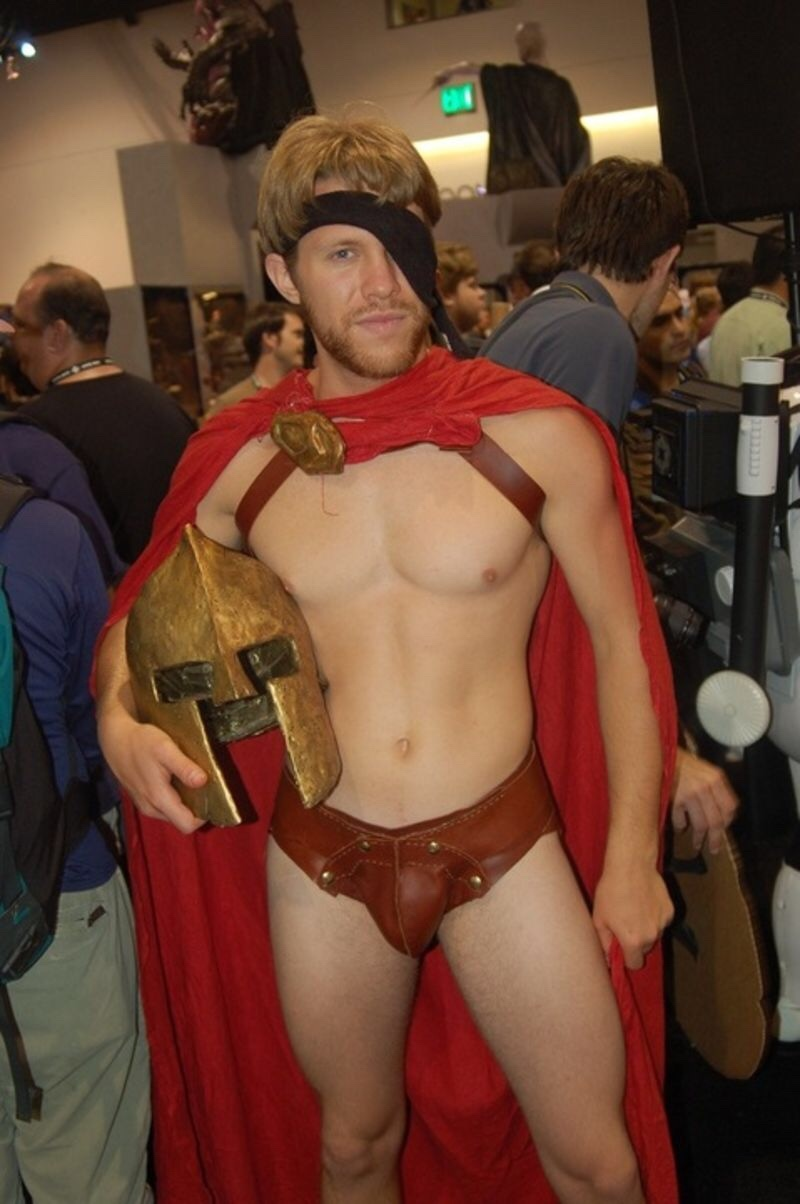Cosplay naked male — pic 13