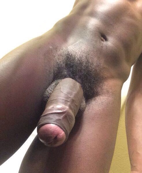 Nude stud with a big perfect cock