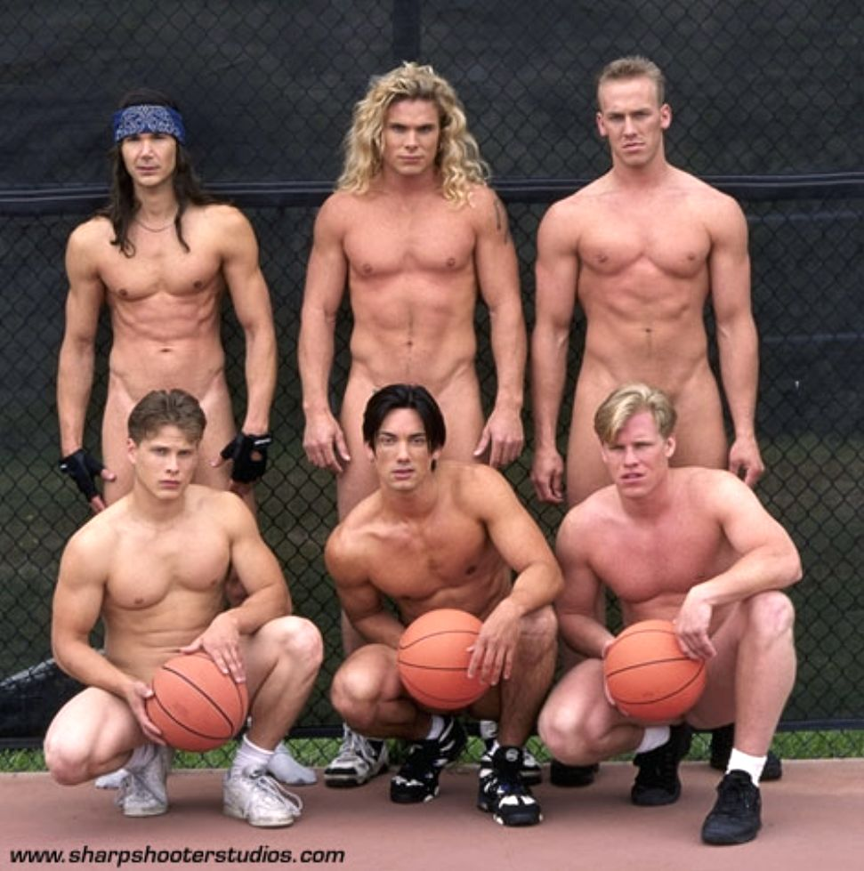 Mens naked basketball