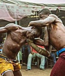 the virility of African wrestlers