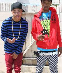 young boys in sagging
