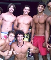 guys from South American favelas