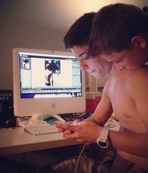 boys and computer