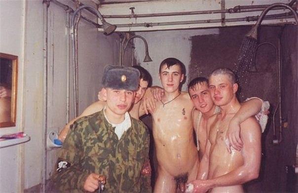 самой воды барни в армии моются видео много