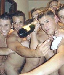 Men locker room