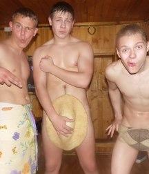 today I go to the sauna