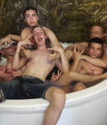 the games in the bathtub
