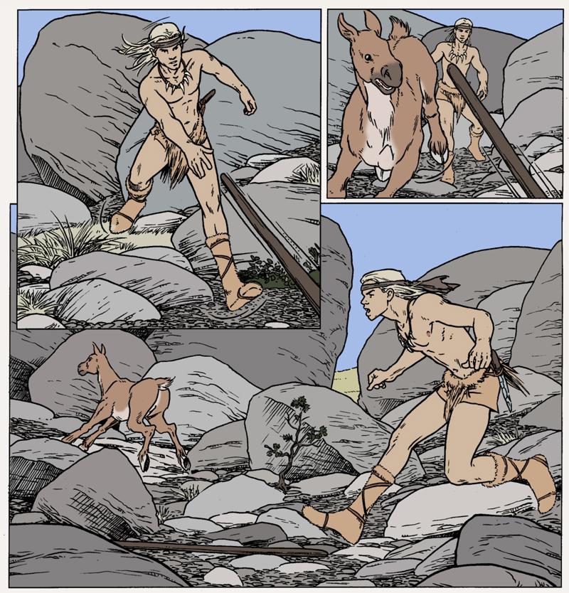 Gon the stone age boy cartoon sex porn pics