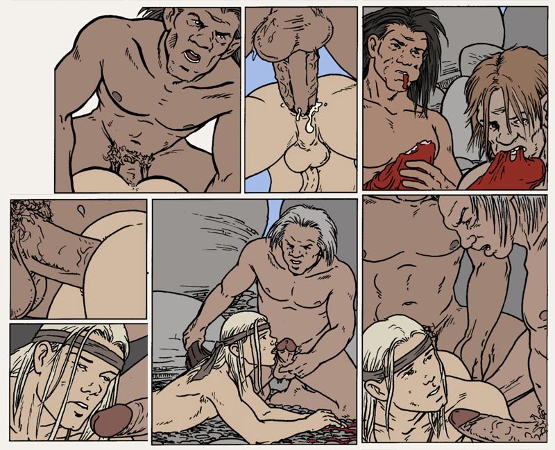 секс каменый век