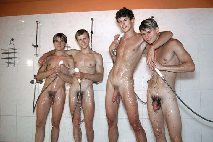 Lesbian Girls Taking A Shower