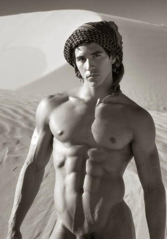 Sexy white naked guys