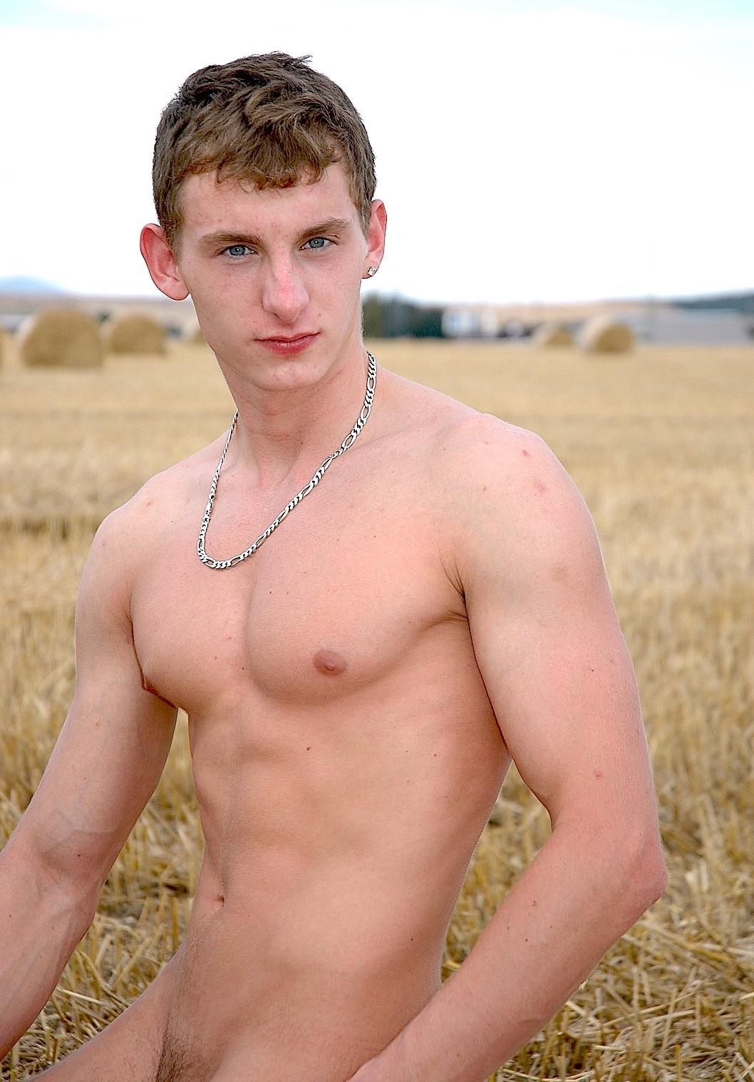 Nude farm boys