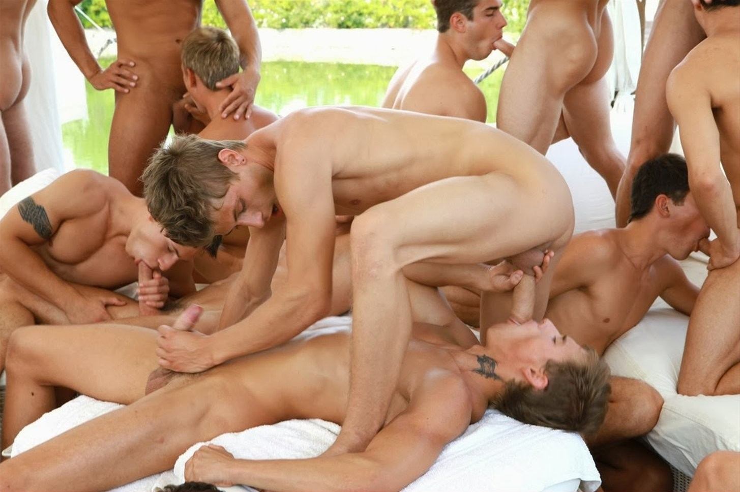 Family of gays have a hot orgy in the kitchen familycocks com