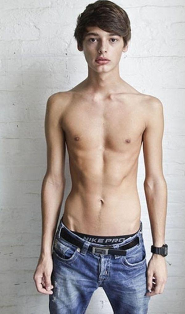 Молодые парни худые порно 6