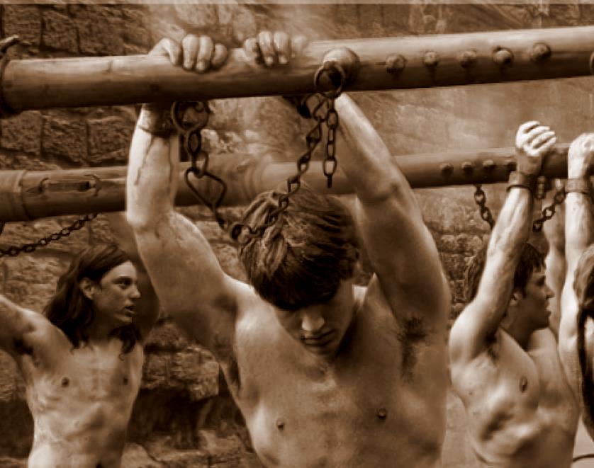 Naked men slaves — photo 2