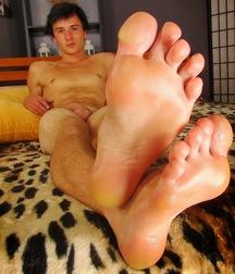 Beautiful boys feet