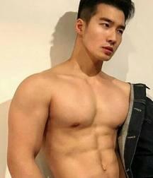 Asian Athlete boy solo 2